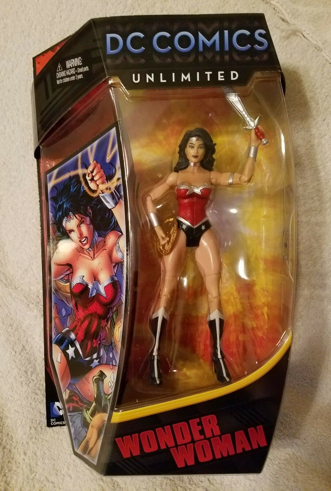 WONDER Damenschuhe DC Comics Unlimited 6 inch Action Figure