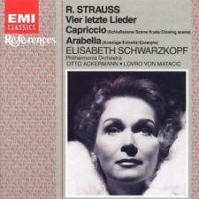 STRAUSS  Vier letzte Lieder / Capriccio / Arabella  Elisabeth Schwarzkopf
