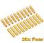 40-Stueck-20-Paar-4mm-Original-Goldstecker-Stecker-Buchse-4-mm-Lipo-Akku-4-0mm-RC Indexbild 1