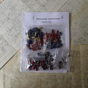 Pioneer-SX-1080-rebuild-restoration-recap-service-kit-fix-repair-capacitor