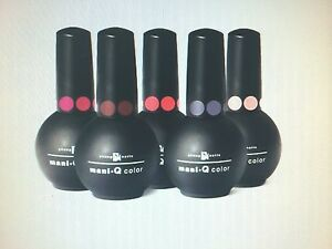 Image Is Loading New Young Nails Mani Q Color Gel Base