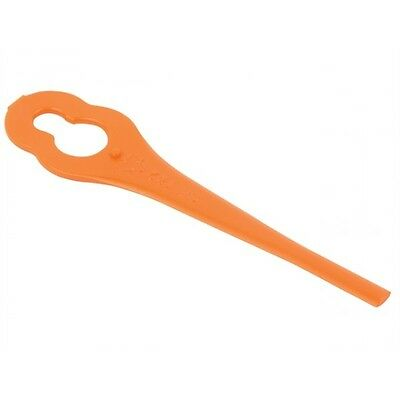 Plastic Blades for Aldi Florabest FAT 18 B2 B3 Red Orange Trimmer Strimmer GR182
