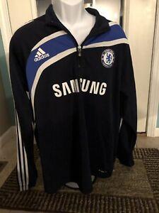 adidas CHELSEA Samsung Pullover 2XL Blue adidas CHELSEA