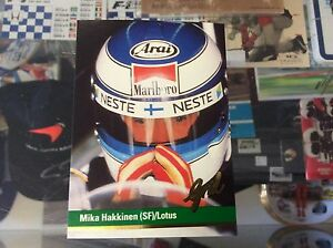 MIKA-HAKKINEN-1992-GRID-COLLECTOR-CARD-MINT-CONDITION-SF-LOTUS