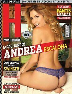 Andrea Escalona 206 Revista H Para Hombres Mexican Complete Your Collection Ebay