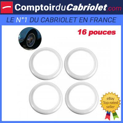 "Flanc Blanc extra large pour roue 16/"""