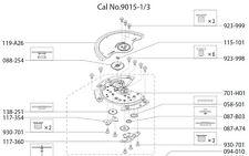 Miyota 9015 Movemnet Cal. Parts Communication Technical Manual Ebook Reader