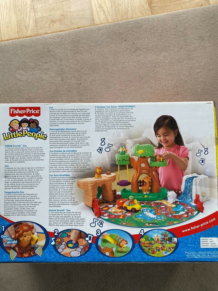 Byggesæt, Fisher Price Little People, Fisher Price