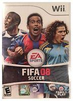Fifa Soccer 08 Wii - Brand Sealed - Free U.s. Shipping - Nice