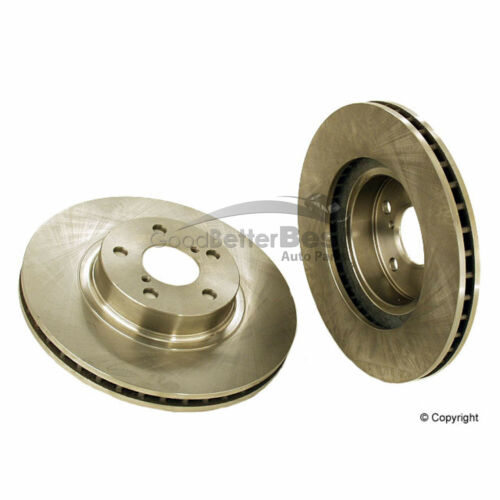 One New OPparts Disc Brake Rotor Front 40549024 26300AE00C for Saab for Subaru