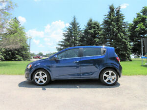 2013 Chevrolet Sonic LTZ Hatchback w/ Leather & Sunroof!! $50/wk