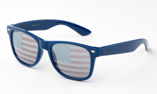 USA Flag Sunglasses American Eyewear Unique Retro Classic Patriots