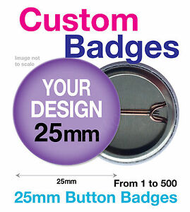 YOUR-CUSTOM-DESIGN-PERSONALISED-25mm-BADGES-TEXT-IMAGES-HENS-STAGS-PARTY