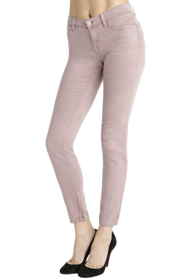 J BRAND JEANS Mid Rise Super Skinny 620 NWT bluesh Size 25-29  185 Stretch Cotton