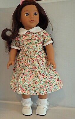 """Multi Color Dress Fits 18/"""" American Girl  Dolls Less Than Perfect"""