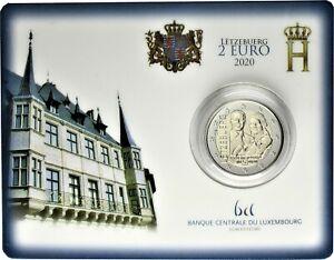 Luxemburg-2-Euro-2020-Geburt-Prinz-Charles-Jean-Reliefpraegung-CoinCard-Bruecke
