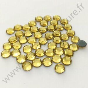 5mm Strass métal thermocollant rond hotfix MARRON 3mm,4mm 6mm 2mm