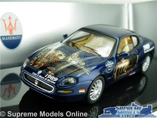 MASERATI COUPE CAMBIOCORSA MODEL CAR 1 43 SCALE IXO MOC053 BERLIN WALL 1989 K8