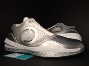 8225864f673463 Nike Air Jordan 2010 ANNIVERSARY SILVER COOL GREY WHITE BLUE BLACK ...