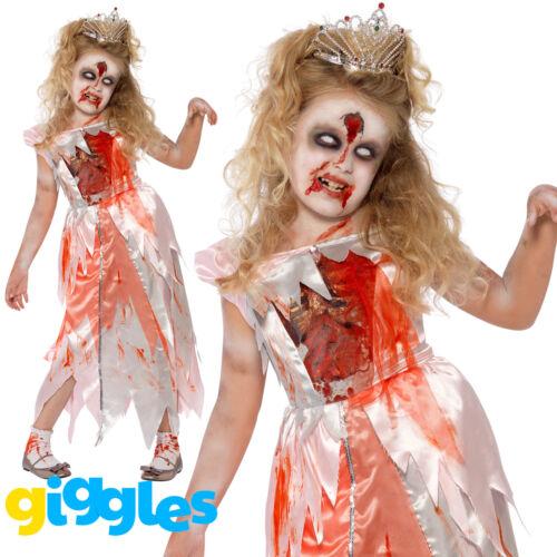 Le ragazze ZOMBIE dormire Principessa Halloween Costume Bambini Vestito Da Bambino