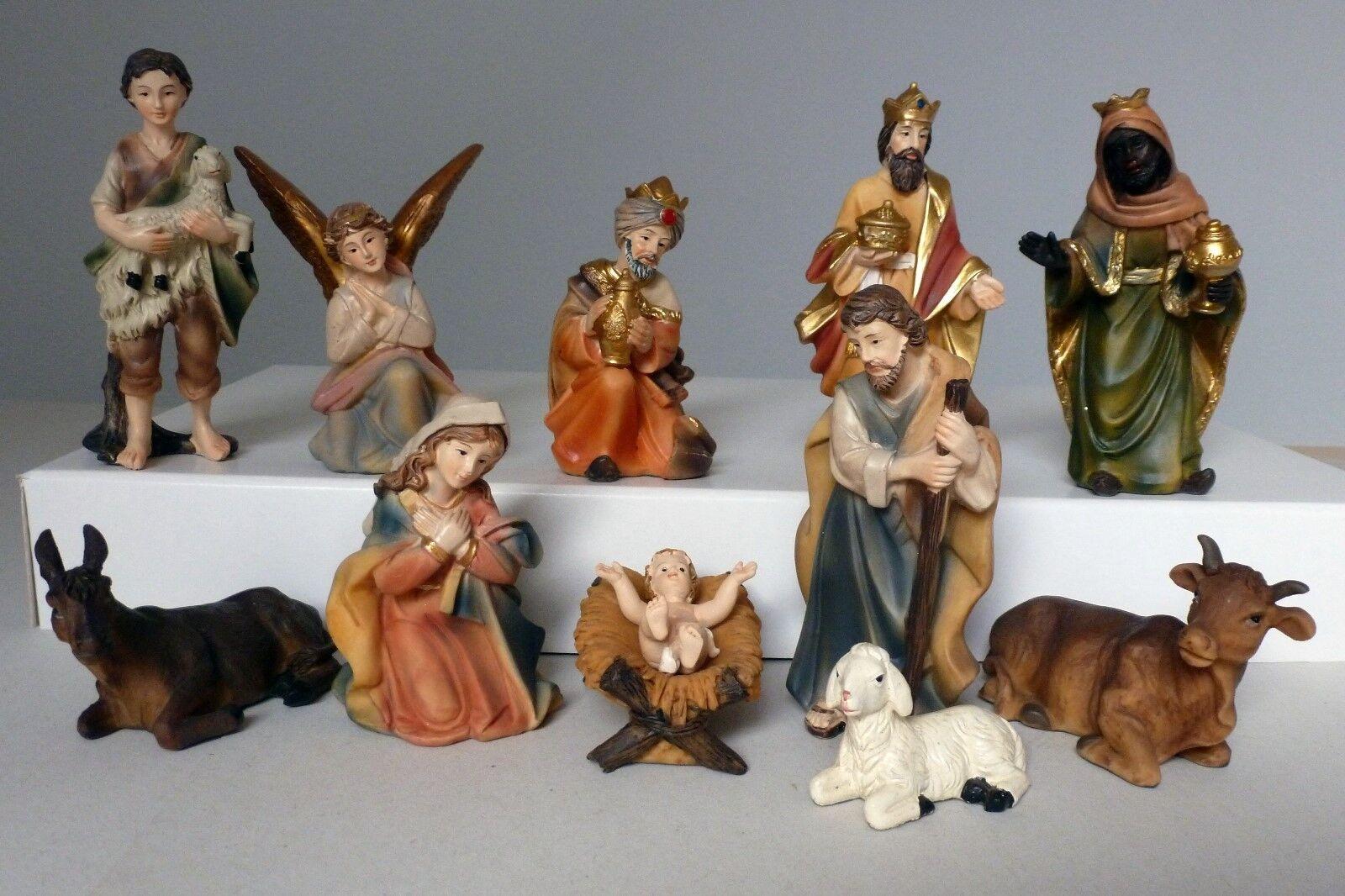 11 pièces krippenfigurenset Markus Taille 11 cm crèches Accessoires crèches k183