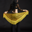 Belly-Dance-Costume-Sequins-Fringe-Triangle-Hip-Scarf-Belt-9-Colors miniature 11
