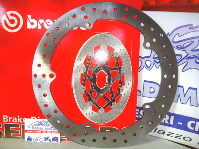 Brake Disc Front BREMBO 68B407G7 Honda Nc 700 S 2012 2013