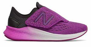 New-Balance-Kid-039-s-Fresh-Foam-Fast-Little-Kids-Female-Shoes-Black-with-Purple
