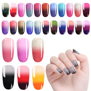 LILYCUTE-7ml-3-Layers-Thermal-Gel-Polish-Temperature-Color-Changing-Nail-Art-Gel