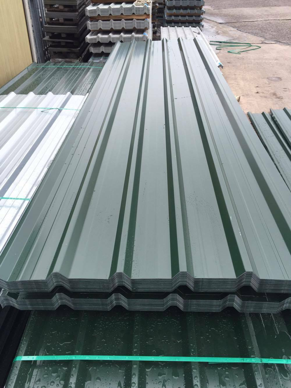 Metal Siding Sheets : Box profile roofing sheets mm heavy gauge steel cheap