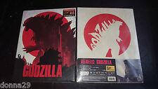 Godzilla 2014 3D+2D Blu-ray Emboss Gloss Blufans Full-Slip Steelbook New&Sealed+
