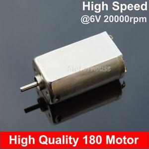 Mini 130 Motor 3V 20000RPM High Speed DC  Strong Magnetic DIY Racing Car