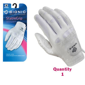 Bionic-Golf-Glove-StableGrip-Womens-Right-Hand-White-Leather-Small