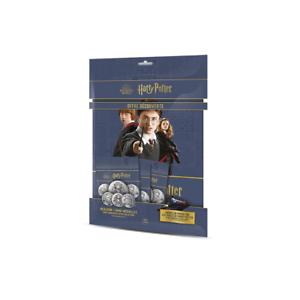 """Médaille """"Harry Potter"""" Album + 3 Mini-Médailles."""