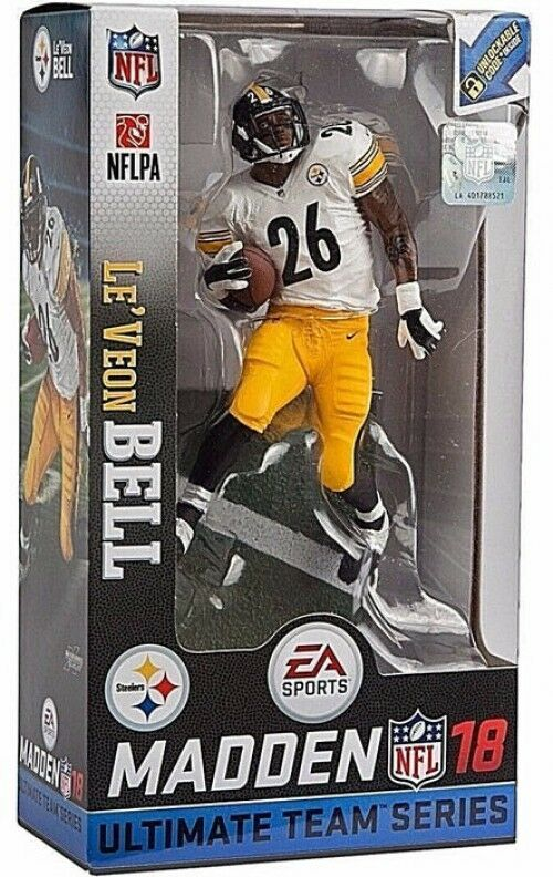 EA Sports Madden 18 Ultimate Team Series 2 Le'Veon Bell Action Figure