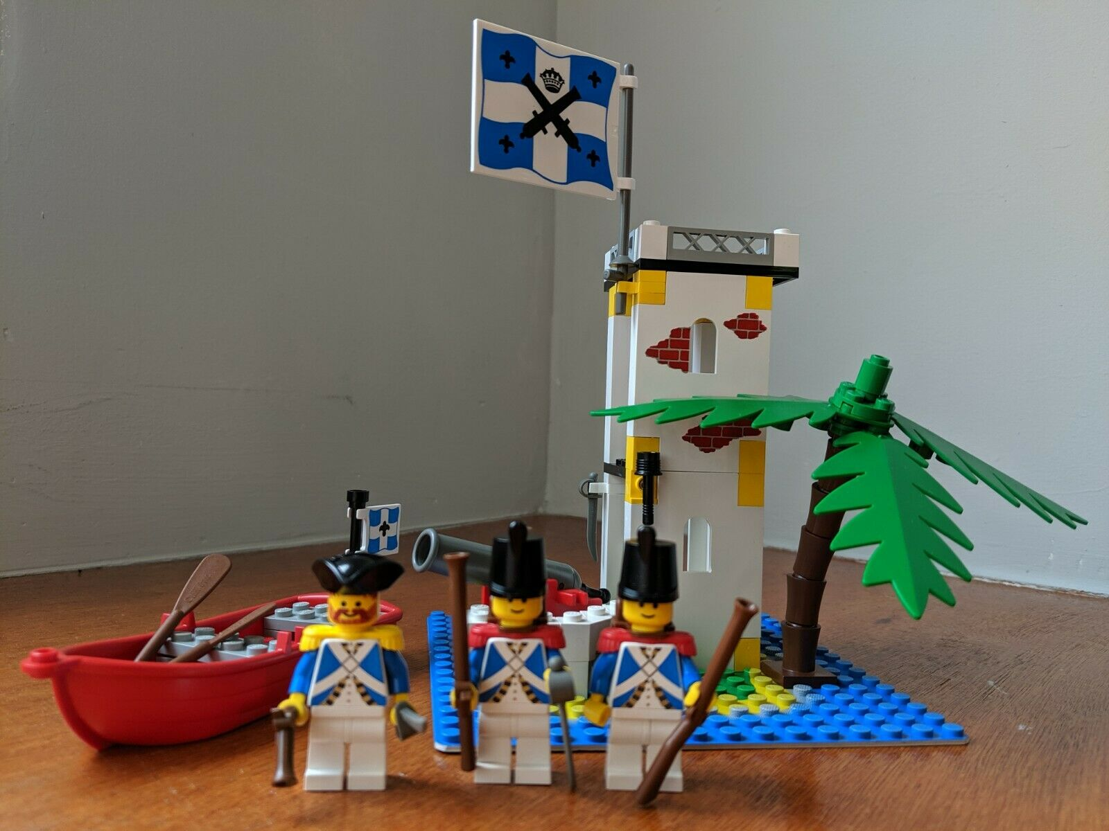 LEGO Pirates  6265 - Sabre Island - Complete w  instructions (no box)