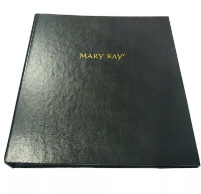 Mary Kay Consultant Black Catalog Party 3 Ring Binders Ebay