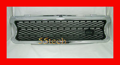 Land Rover Range 06~09 Grille Grill Black Mesh A2 NEW