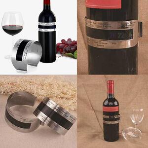 Weinthermometer-Clip-Flaschenthermometer-Wein-Thermometer-NEUE