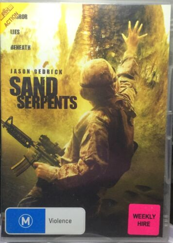 1 of 1 - Sand Serpents (DVD, 2009)