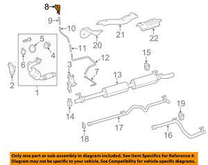 mercedes oem 14 17 sprinter 3500 3 0l v6 exhaust pressure sensor fiero exhaust diagram image is loading mercedes oem 14 17 sprinter 3500 3 0l