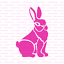 Rabbit-Stencil-Durable-amp-Reusable-Mylar-Stencils thumbnail 5