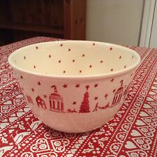 Emma Bridgewater Christmas Town Pudding Basin Mixing Bowl Discontinued New Best