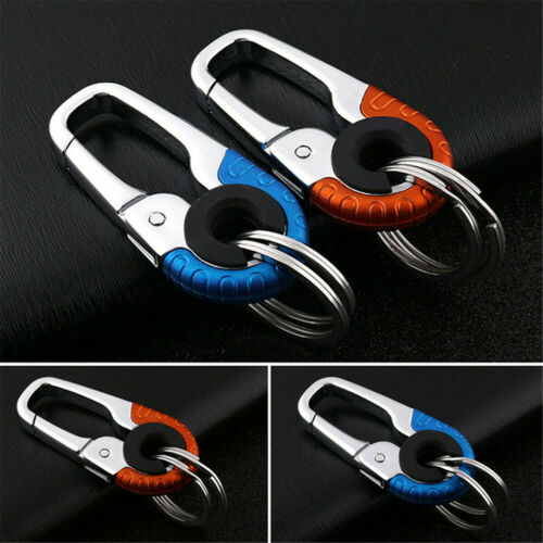 1PC Keychain Key Ring Hook Outdoor Stainless Steel Buckle Carabiner Climbing