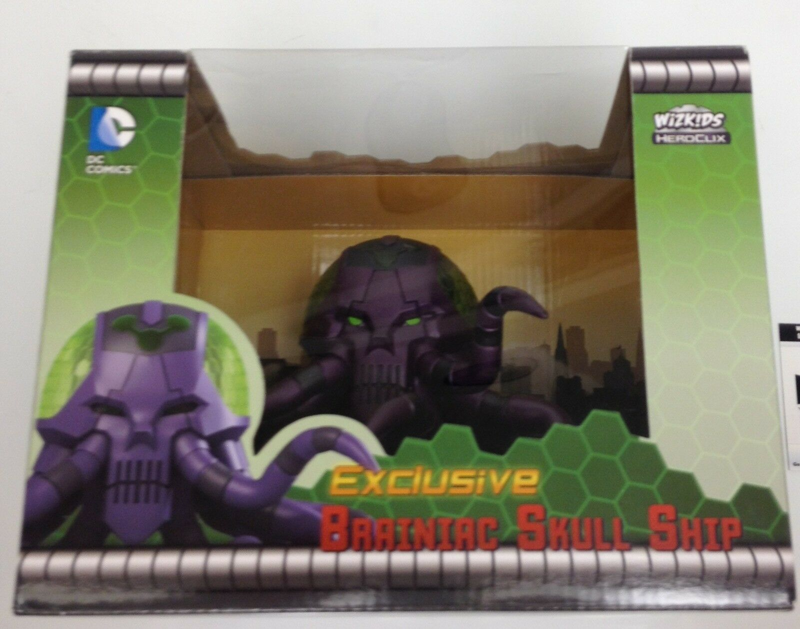 Heroclix 2015 Convention Exclusive Brainiac Skull Ship  D-G002 figure w card