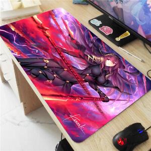 Anime Fate//Grand Order Large Mouse Pad Mat Rin Tohsaka Laptop Keyboard Desk Mat