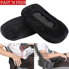 Hot Office Chair Parts Arm Pad Armrest Replacement 1 Pair 2 Pcs Black