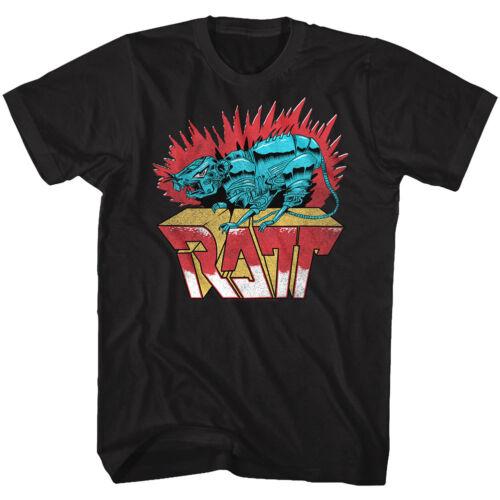 RATT Rock Band Robot Rat Men/'s T Shirt Metal Album Cover Art Concert Tour Merch