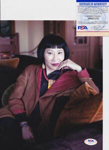 Amy-Tan-Author-Signed-Autograph-8x10-Photo-PSA-DNA-COA-2