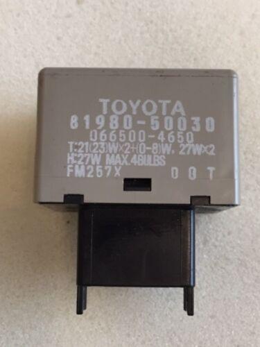 Relais des Clignotants  Toyota  81980-50030